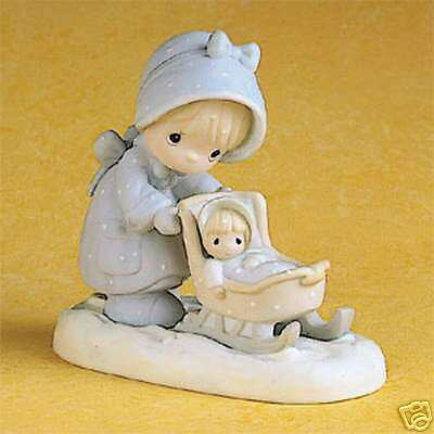 Enesco Precious Moments January Girl - Calendar Girl