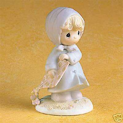 Enesco Precious Moments March Girl - Calendar Girl