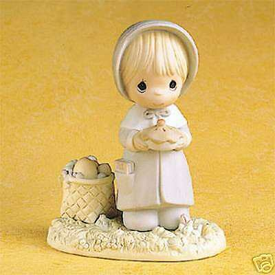 Enesco Precious Moments November Girl - Calendar Girl