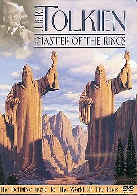 J.R.R. Tolkien - Master of the Rings DVD - Sealed/New