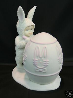 Dept 56 Snowbunnies - I'll Color The Easter Egg