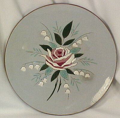 Vintage BELLA ROSA POTTERY DINNER PLATE by Stangl