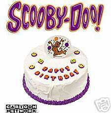 New Wilton Scooby-Doo Edible Cake Decorations 711-3206