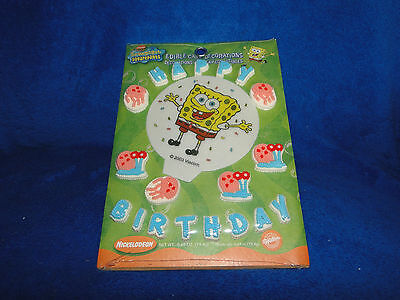 New Wilton Sponge Bob Edible Cake Decorations 711-5130