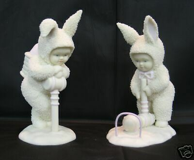 Dept 56 Snowbunnies - Easy Does It  Easter