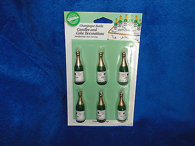 New Wilton Champagne Bottles Candles 2811-163