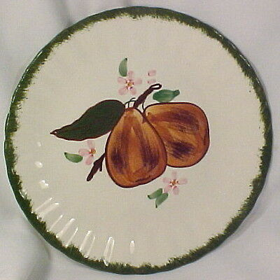 PEARS COUNTRY FAIR AVON LUNCHEON PLATE Blue Ridge