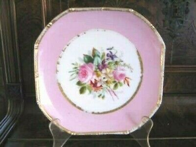 Beautiful Continental 18th-19th C Hand-painted plate H
