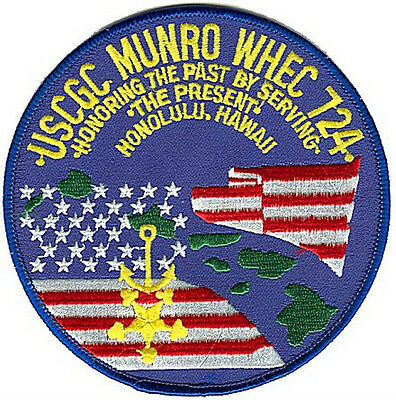USCGC MUNRO Hawaii - Coast Guard patch