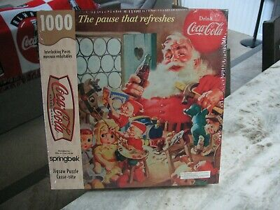 "Coca Cola1000 Piece Puzzle""the Pause That Refreshes""nib"