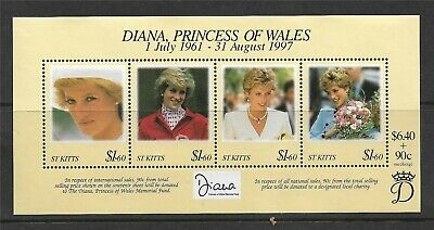 St.Kitts 1998 Diana Commemoration M.S.SG515 MNH