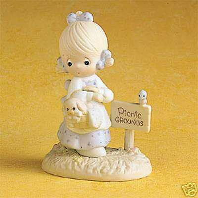 Enesco Precious Moments July Girl-Calendar Girl #110051
