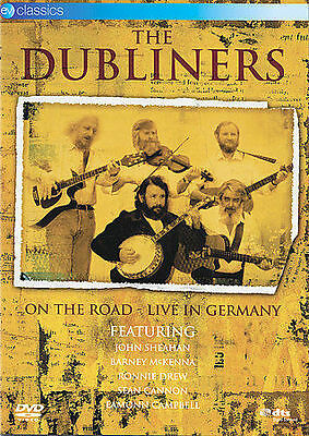 The Dubliners - Irish Music - ON THE ROAD: LIVE IN GERMANY DVD - NM
