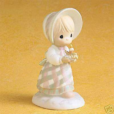 Enesco Precious Moments December Girl - Calendar Girl