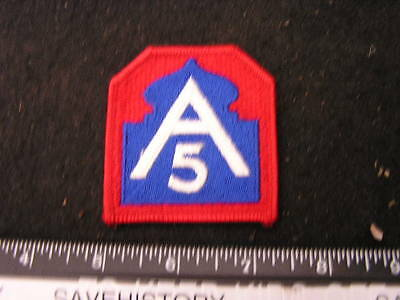 US WWII  5th Army Patch Modern patch