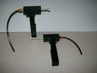 Lot of 2: Pneumatic Optical Stages / Mount / Base NICE!