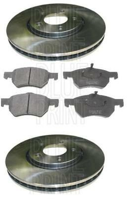 Chrysler  Grand Voyager Crd Lx Brake Discs & Pads Front