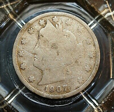 1907-P   Good  Liberty Head Nickel........#2608