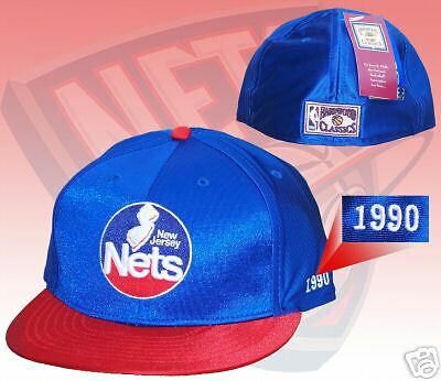 02f64d5a66c7 NEW JERSEY NETS hat Reebok Hardwood Classic Fitted 7 -  12.68