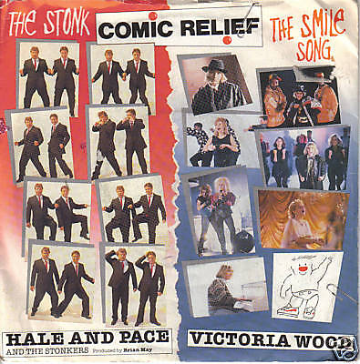 Comic Relief - Hale & Pace / Victoria Wood  7""