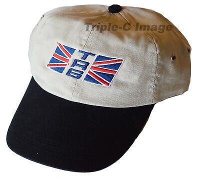 Triumph TR6 Union Jack flag embroidered hat