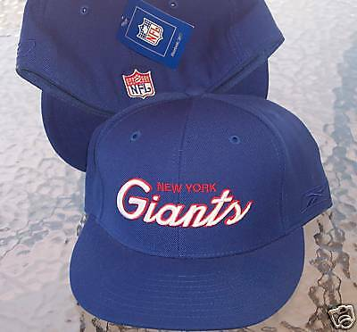New York Giants Hat  Cap NFL  Reebok  Fitted  Size  7