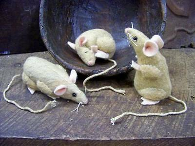 """PRIMITIVE 4"""" Regular-sized MOUSE Mice Sewing PAPER Pattern"""