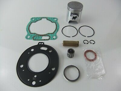 NEW YAMAHA DTR125 COMPLETE PISTON GUDGEON CIRCLIP RINGS 56.00mm DTR DT STANDARD