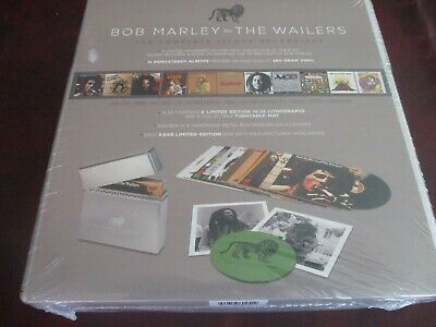 BOB MARLEY CATCH A FIRE RARE MFSL 200 GRAM Low NUMBERED 5 + 2 DELUXE BOXES LP+CD