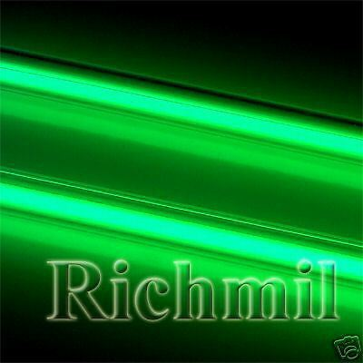 """New Dual 12"""" Green Cold Cathode Tubes / Interior Neons"""