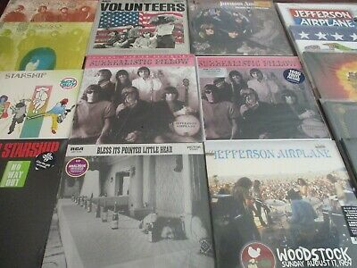 JEFFERSON AIRPLANE Gracie Slick COLLECTION RARE 13 LP LIMITED SET + 5 CD BONUS