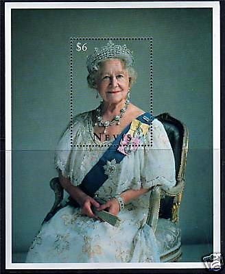 Nevis 1995 Queen Mother 95th Birthday MS927 MNH