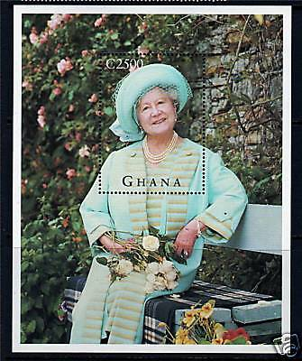 Ghana 1995 Queen Mother 95th Birthday MS2195 MNH