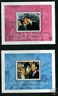 Nevis 1999 Royal Wedding MS1362 MNH