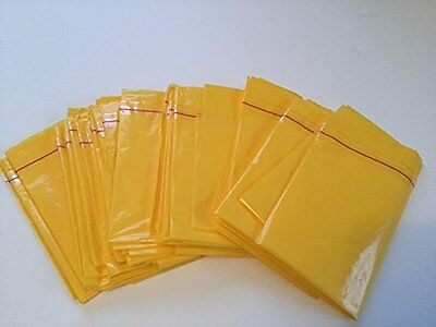 Sick Vomit Travel Motion Sickness Bags - Yellow Disposable - Quantity 10 Loose