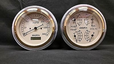 47 48 49 50 51 52 53 CHEVY TRUCK  GAUGE CLUSTER GOLD