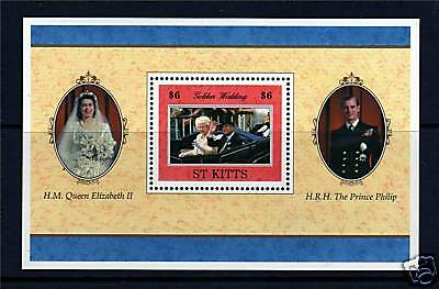 St Kitts 1997 Golden Wedding MS491 MNH