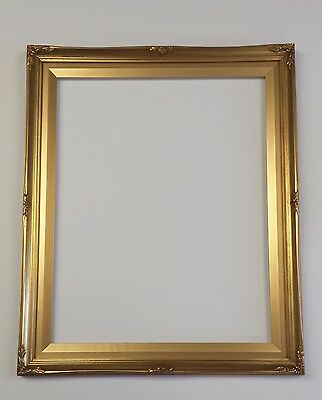 PICTURE FRAME- ORNATE BRIGHT GOLD- 16x20   #B8G