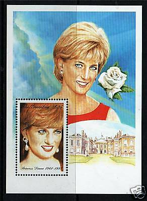 Gambia 1997 Diana Commemoration  MS 2818 MNH