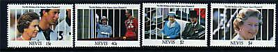 Nevis 1991 Queens 65th Birthday SG 622/5 MNH