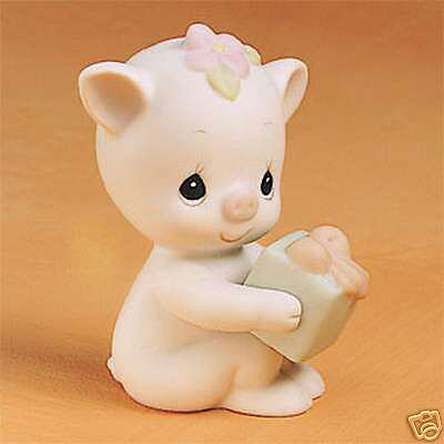 Enesco Precious Moments Oinky Birthday NIB #524506