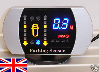 Rear Parking Reversing Sensor 4 sensors LED displayer