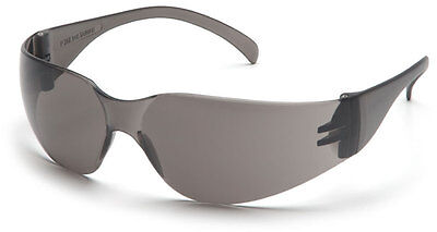 48 Pair 1700 Series Smoke / Gray Lens Safety Glasses