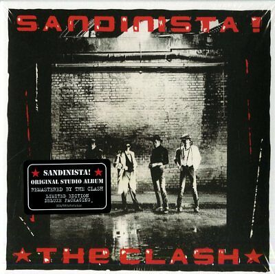 Clash - Sandinista Remastered - 3  CD Nuovo Sigillato
