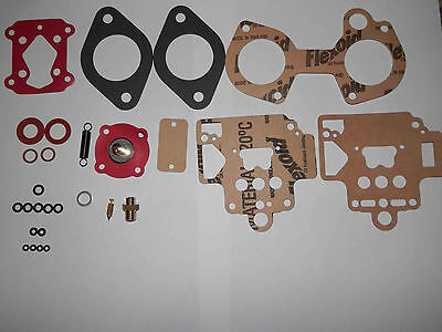 Dellorto 40 Dhla Carburetor Service Kit-With Added Screws And Supplement