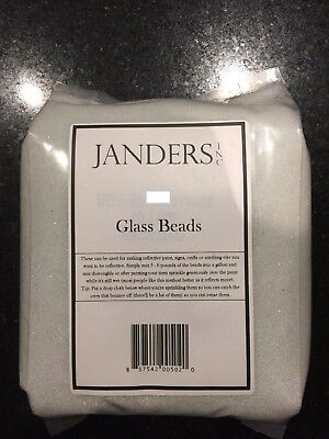 Reflective Glass Beads for making reflective paint signs crafts 1 Pound