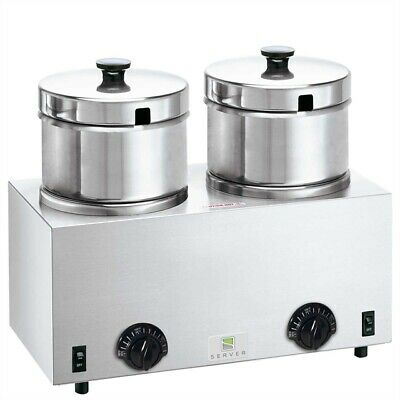Server Twin Soup Warmer 4qt TWIN FS-4 81200