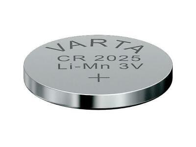 25 x CR2025 Lithium Knopfzelle 3V CR 2025 original VARTA lose Industrie-Ware