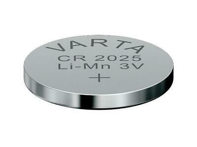 50 x CR2025 Lithium Knopfzelle 3V CR 2025 original VARTA lose Industrie-Ware