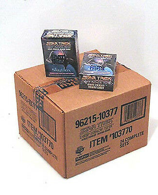 Star Trek:Deep Space 9 Inaugural Trading Card Case of 24 Boxed Sets- $300+ Value